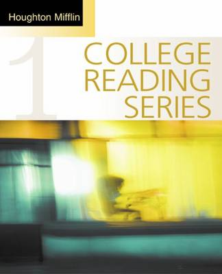 Houghton Mifflin College Reading Series: Bk. 1 (Paperback)