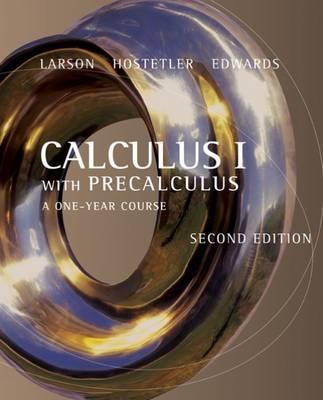 Calculus I with Precalculus (Hardback)