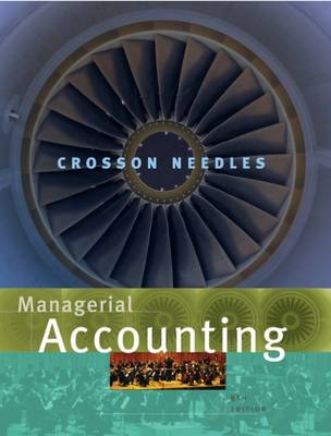 Managerial Accounting: Student Text (Hardback)