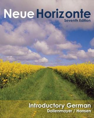 Neue Horizonte: Introductory German (Hardback)