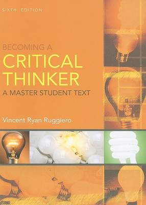 Becoming a Critical Thinker - Master Student (Paperback)