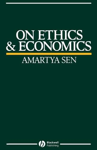 On Ethics and Economics (Paperback)