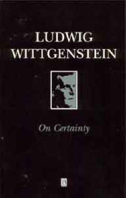 On Certainty (Paperback)
