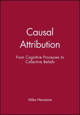 Causal Attribution: From Cognitive Processes to Collective Beliefs (Paperback)