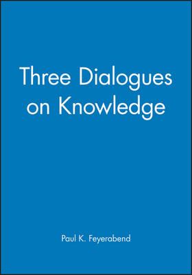 Three Dialogues on Knowledge (Paperback)