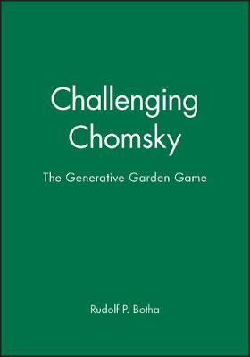 Challenging Chomsky: The Generative Garden Game (Paperback)