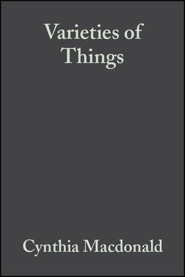 Varieties of Things: Foundations of Contemporary Metaphysics (Paperback)