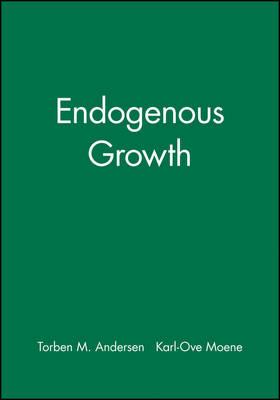 Endogenous Growth - Scandinavian Journal of Economics (Paperback)