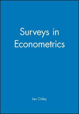 Surveys in Econometrics (Paperback)