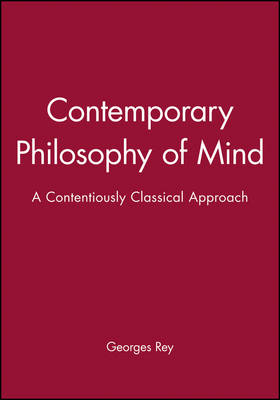 Contemporary Philosophy of Mind - Contemporary Philosophy S. (Hardback)