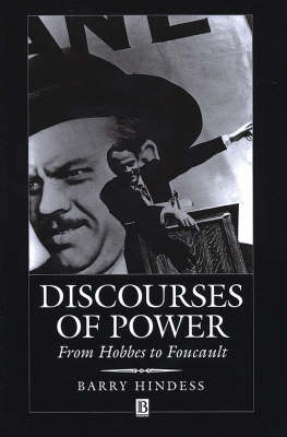 Discourses of Power: From Hobbes to Foucault (Paperback)