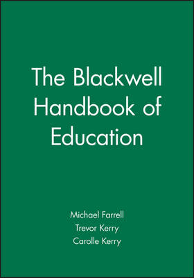 The Blackwell Handbook of Education (Paperback)