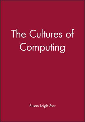 The Cultures of Computing - Sociological Review Monographs (Paperback)