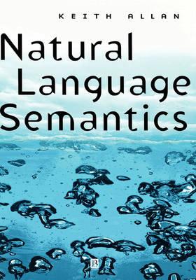 Natural Language Semantics (Hardback)