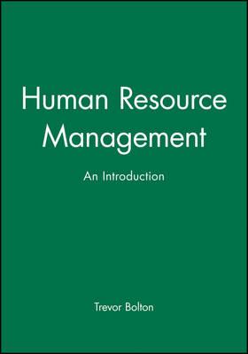 Human Resource Management: An Introduction (Paperback)