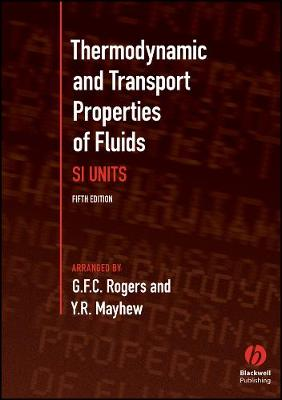 Thermodynamic and Transport Properties of Fluids (Paperback)