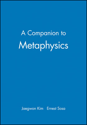 A Companion to Metaphysics (Paperback)
