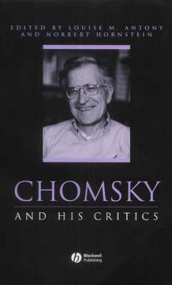 Chomsky and His Critics - Philosophers and their Critics (Paperback)