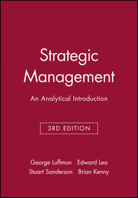 Strategic Management: An Analytical Introduction (Paperback)