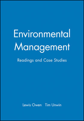 Environmental Management: Readings and Case Studies (Paperback)