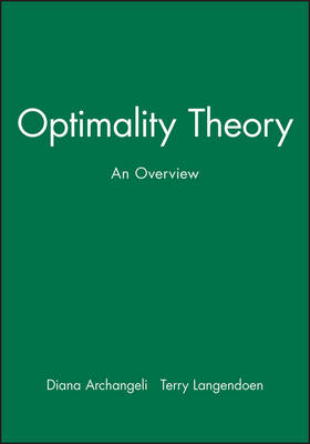 Optimality Theory: An Overview - Explaining Linguistics (Paperback)