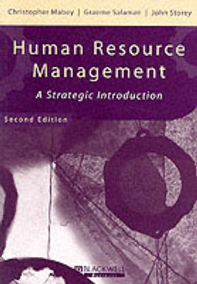 Human Resource Management: A Strategic Introduction - Management, Organizations and Business (Paperback)