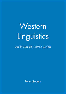 Western Linguistics: An Historical Introduction (Paperback)