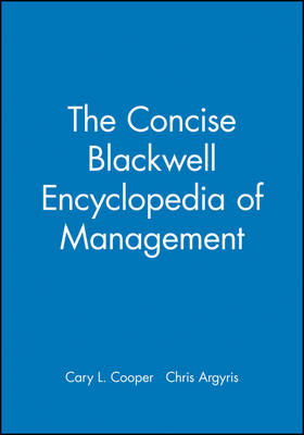 The Concise Blackwell Encyclopedia of Management (Paperback)