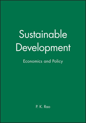 Sustainable Development: Economics and Policy (Paperback)