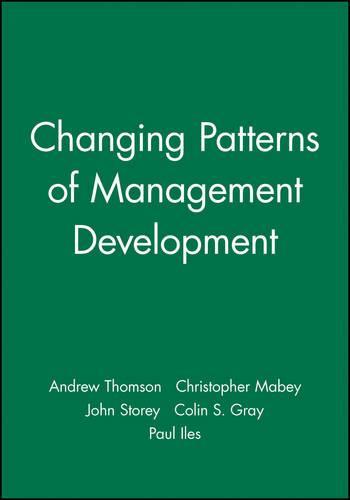 New Issues in Management Development - Management, Organizations & Business (Hardback)