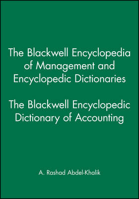 The Blackwell Encyclopedic Dictionary of Accounting (Paperback)