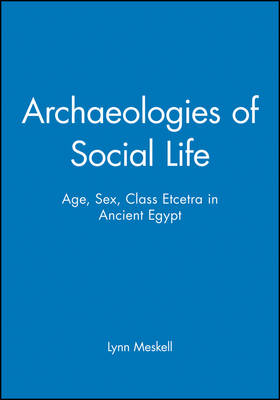 Archaeologies of Social Life: Age, Sex, Class Etcetra in Ancient Egypt - Social Archaeology (Paperback)