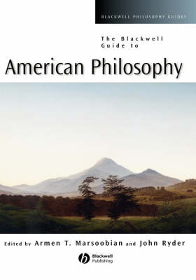 The Blackwell Guide to American Philosophy - Blackwell Philosophy Guides (Hardback)