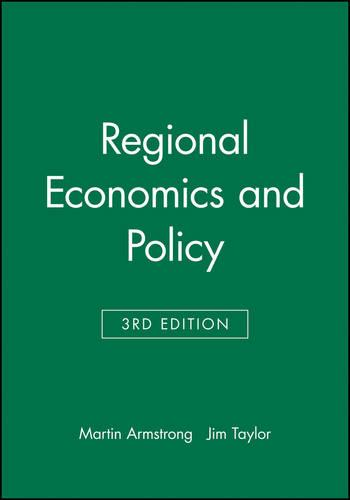 Regional Economics and Policy (Paperback)