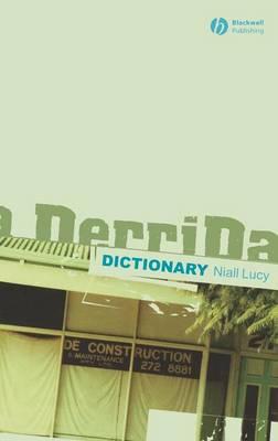A Derrida Dictionary (Hardback)