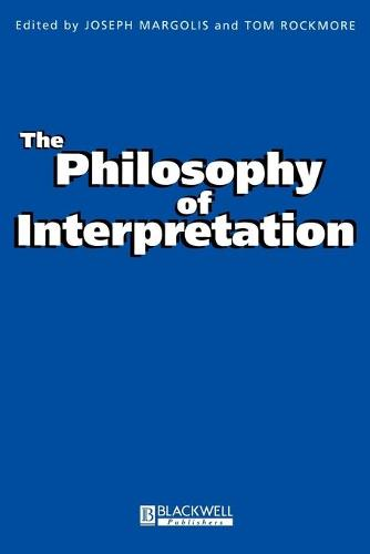 The Philosophy of Interpretation - Metaphilosophy (Paperback)