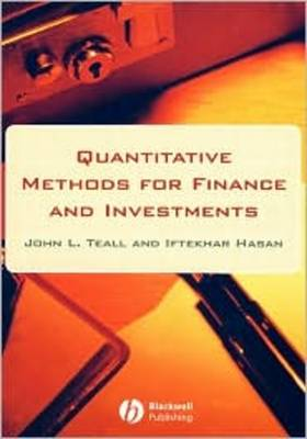 Quantitative Methods for Finance and Investments (Hardback)