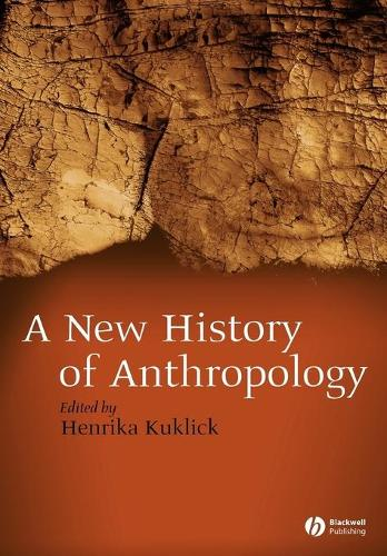 New History of Anthropology (Paperback)