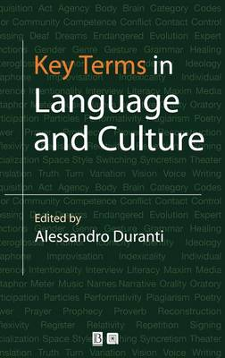 Key Terms in Language and Culture (Hardback)