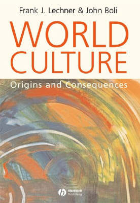 World Culture: Origins and Consequences (Paperback)