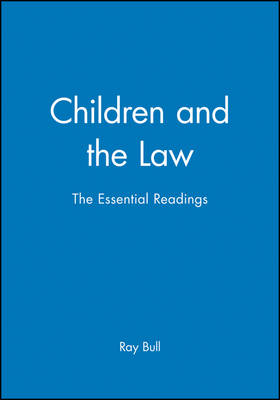 Children and the Law: The Essential Readings - Essential Readings in Developmental Psychology (Paperback)