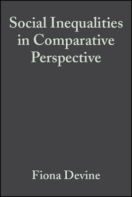 Social Inequalities in Comparative Perspective (Hardback)