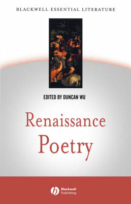 Renaissance Poetry - Blackwell Essential Literature (Paperback)