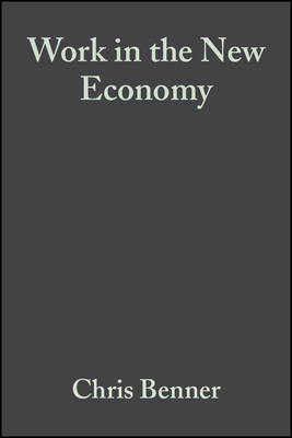 Work in the New Economy: Flexible Labor Markets in Silicon Valley - Information Age Series (Paperback)