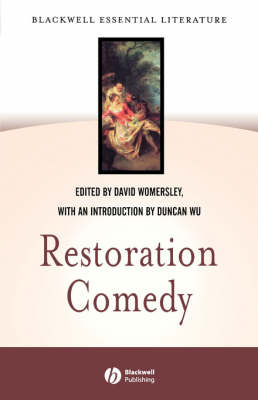 Restoration Comedy - Blackwell Essential Literature (Paperback)