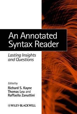 An Annotated Syntax Reader: Lasting Insights and Questions - Linguistics: The Essential Readings (Paperback)