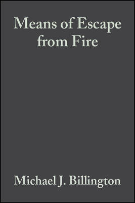 Means of Escape from Fire (Hardback)