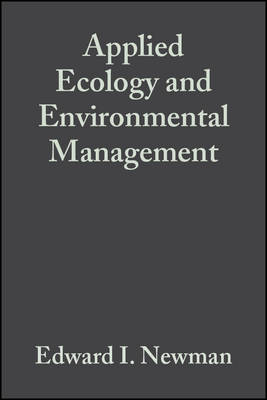 Applied Ecology and Environmental Management (Paperback)
