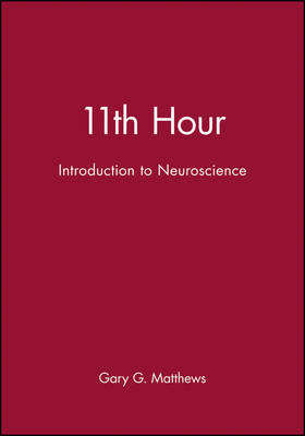 11th Hour: Introduction to Neuroscience - Eleventh Hour - Boston (Paperback)