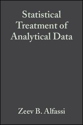 Statistical Treatment of Analytical Data (Hardback)